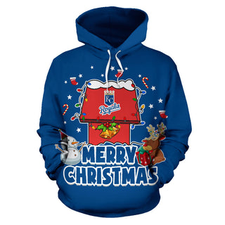 Funny Merry Christmas Kansas City Royals Hoodie 2019