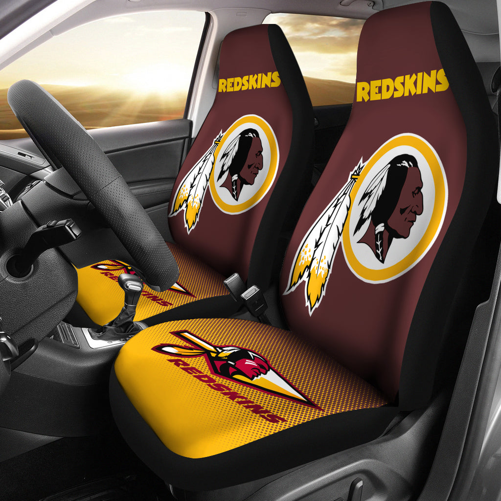 Fantastic New Fashion Fantastic Washington Redskins Car Seat Covers Squirreltailoven Fun Painted Chair Ideas Images Squirreltailovenorg