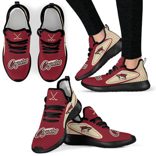 Legend React Arizona Coyotes Mesh Knit Sneakers