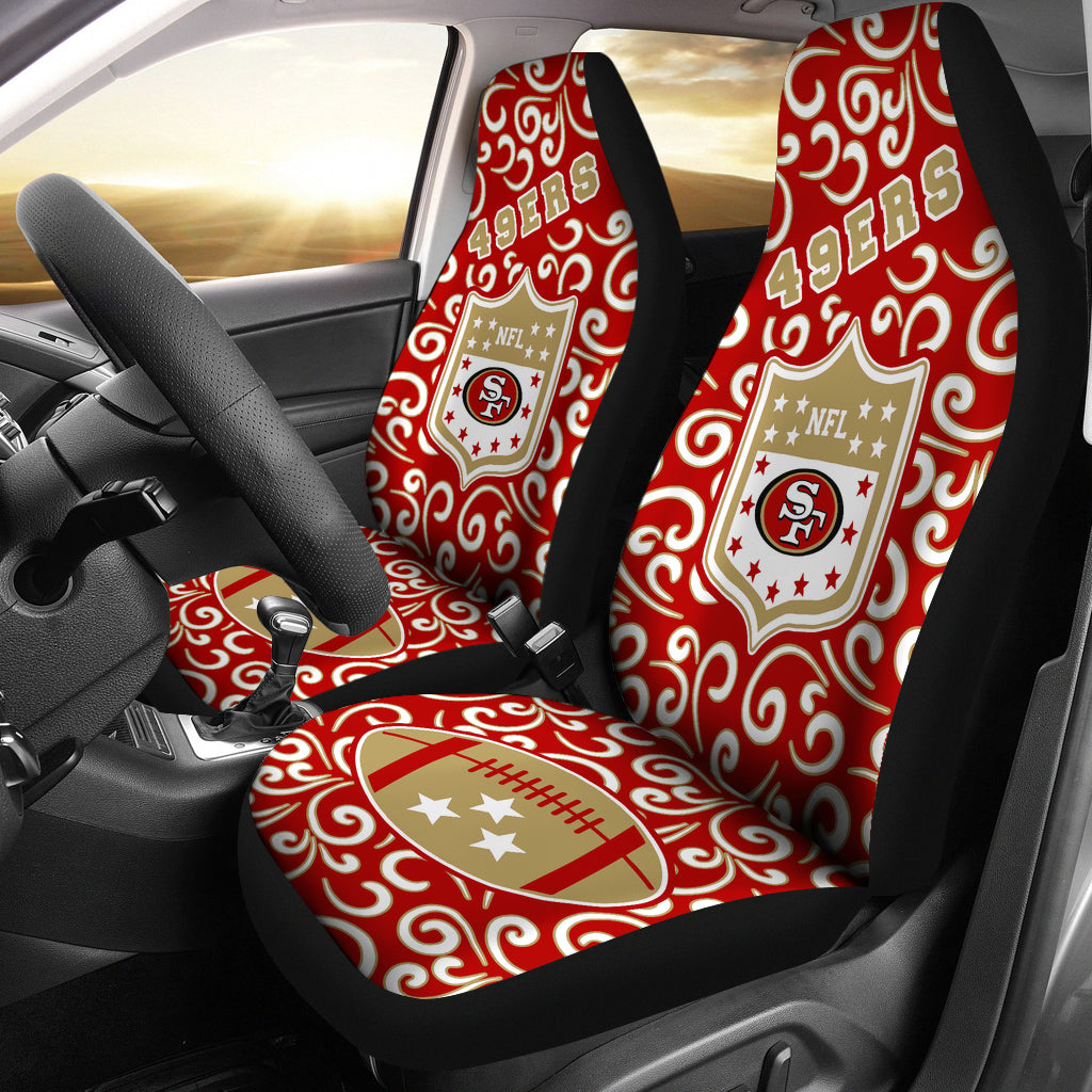 Artist SUV San Francisco 49ers Seat Covers Sets For Car