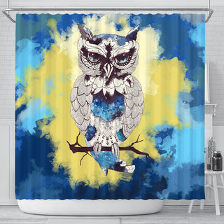 Best Owl Design Shower Curtains