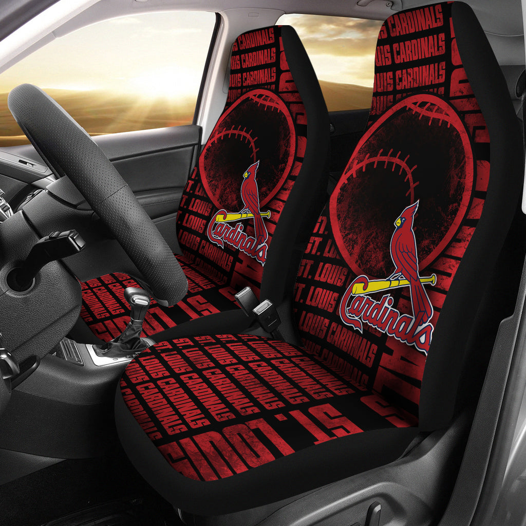 The Victory St Louis Cardinals Car Seat Covers Best Funny Store