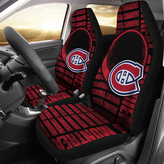 The Victory Montreal Canadiens Car Seat Covers