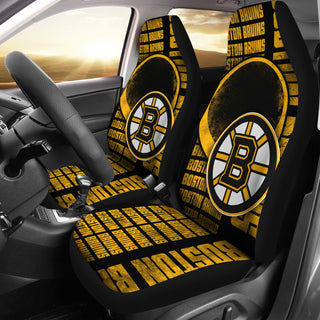 The Victory Boston Bruins Car Seat Covers