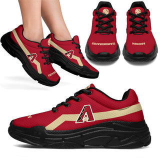 Edition Chunky Sneakers With Line Arizona Diamondbacks Shoes