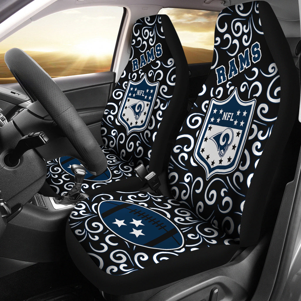 Artist SUV Los Angeles Rams Seat Covers Sets For Car