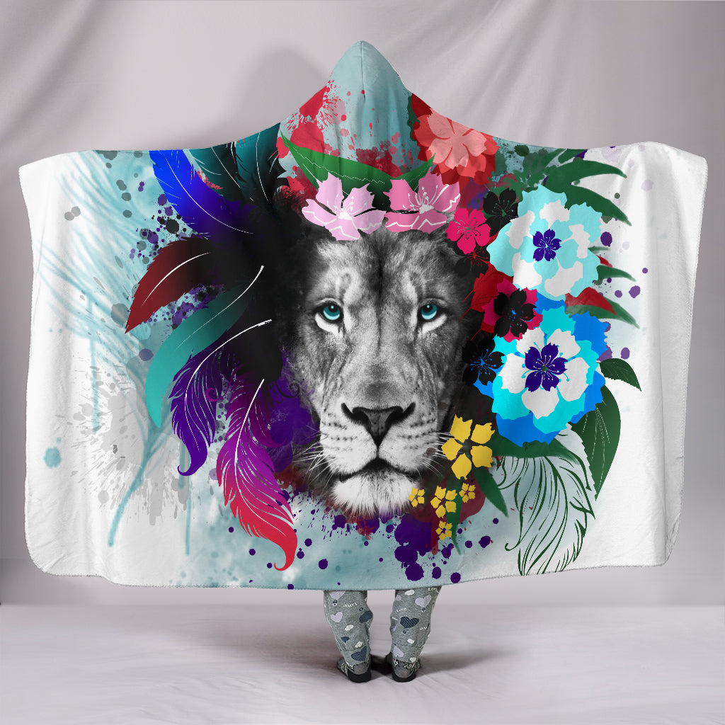 Lion Hooded Blankets