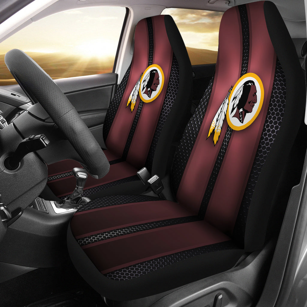 Fantastic Incredible Line Pattern Washington Redskins Logo Car Seat Covers Squirreltailoven Fun Painted Chair Ideas Images Squirreltailovenorg