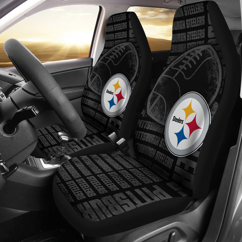 The Victory PSteelers Car Seat Covers
