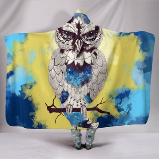 Best Owl Design Hooded Blankets