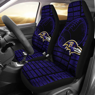 The Victory Baltimore Ravens Car Seat Covers