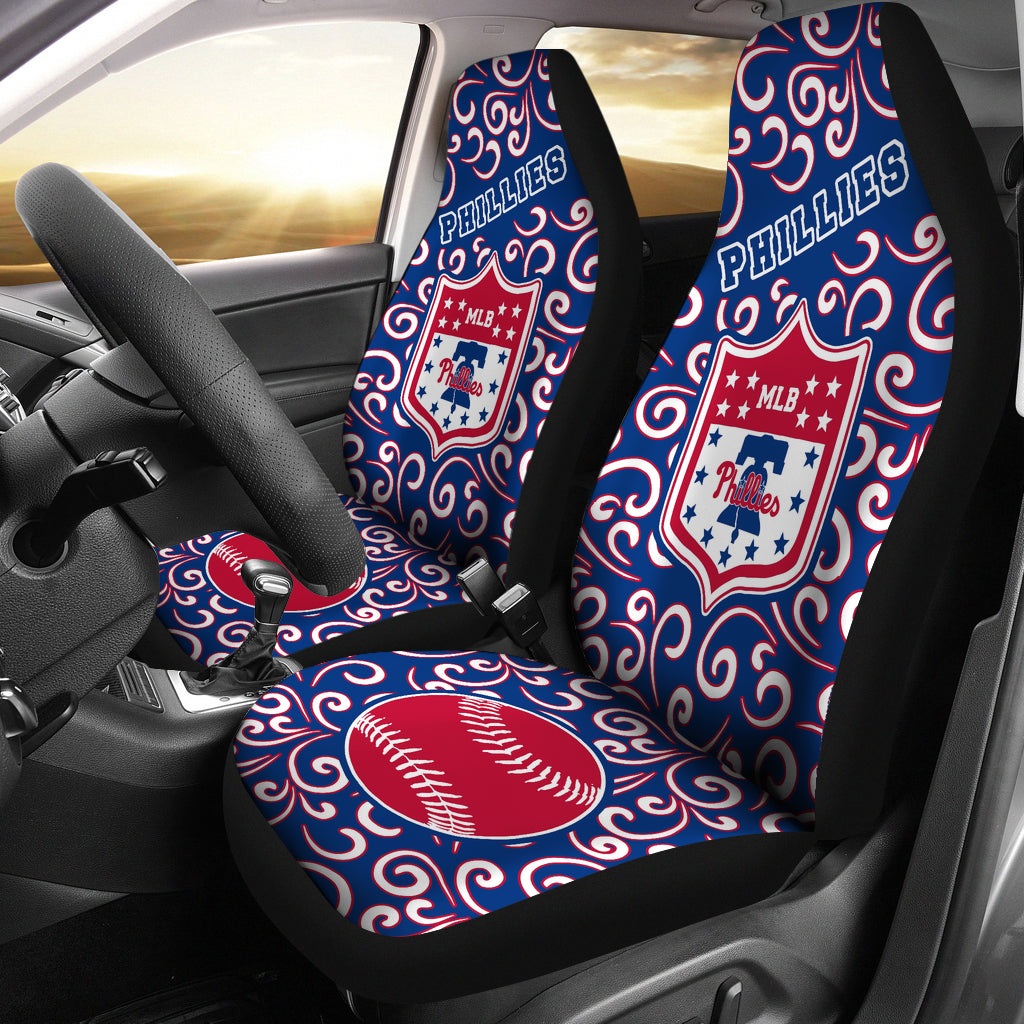 Artist SUV Philadelphia Phillies Seat Covers Sets For Car