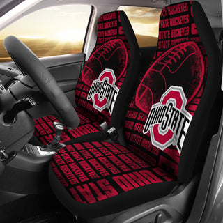 The Victory Ohio State Buckeyes Car Seat Covers