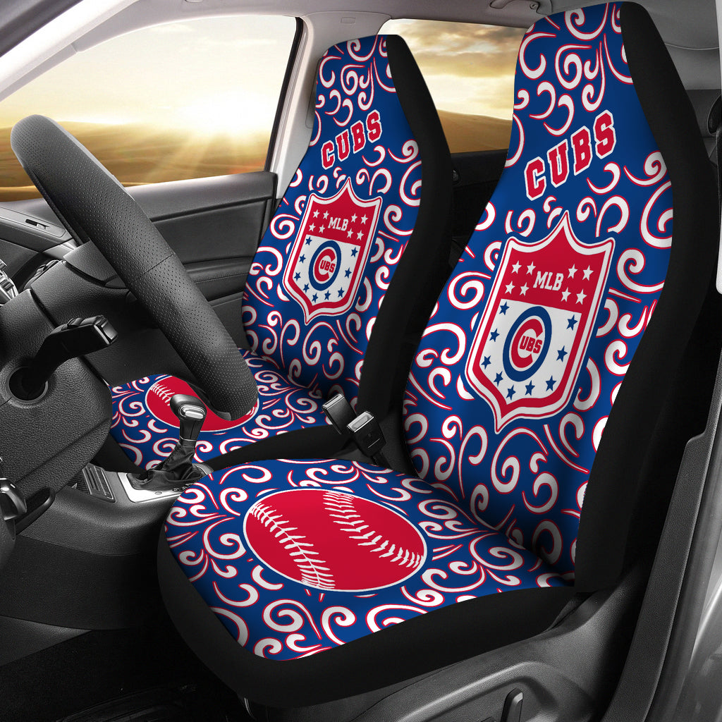 Artist SUV Chicago Cubs Seat Covers Sets For Car