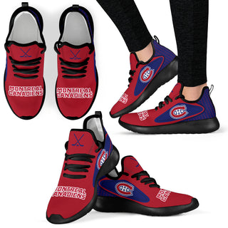 Legend React Montreal Canadiens Mesh Knit Sneakers