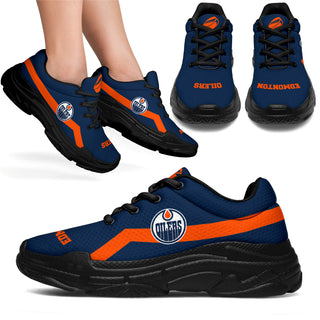 Edition Chunky Sneakers With Line Edmonton Oilers Shoes