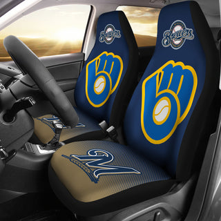 New Fashion Fantastic Milwaukee Brewers Car Seat Covers