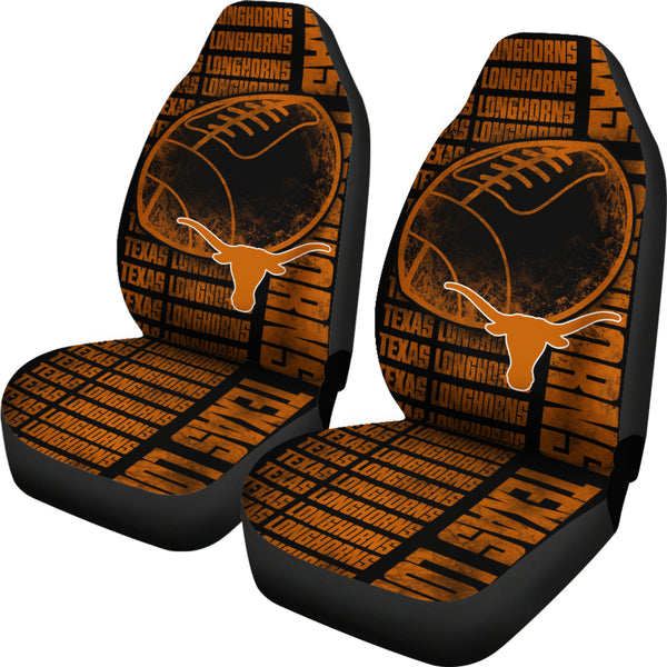 The Victory Texas Longhorns Car Seat Covers Best Funny Store