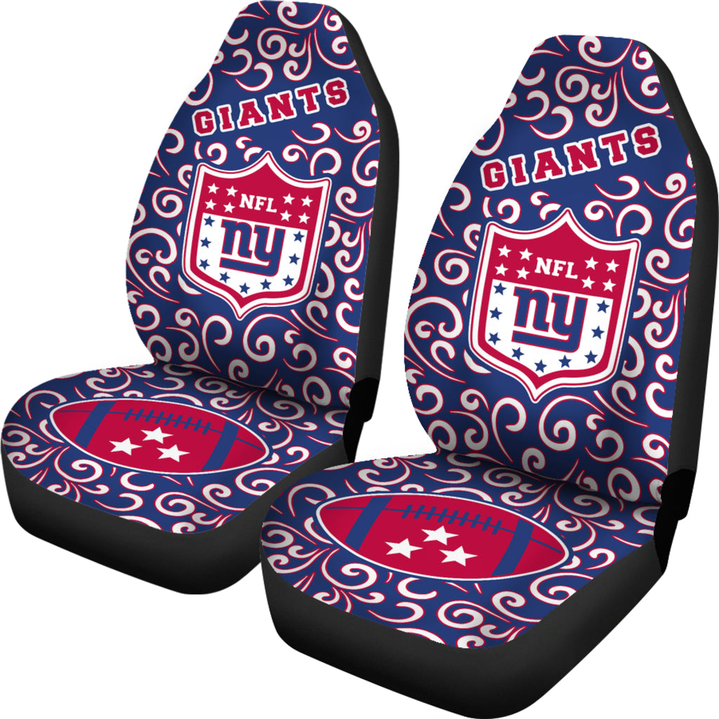 Artist SUV New York Giants Seat Covers Sets For Car