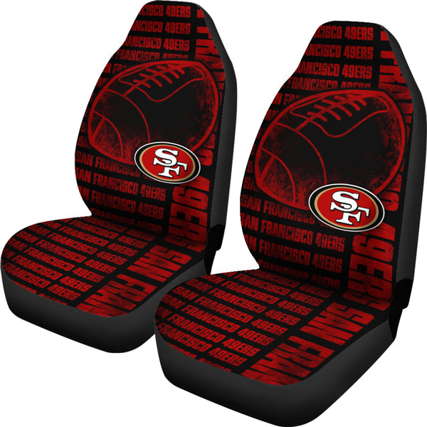 The Victory San Francisco 49ers Car Seat Covers Best