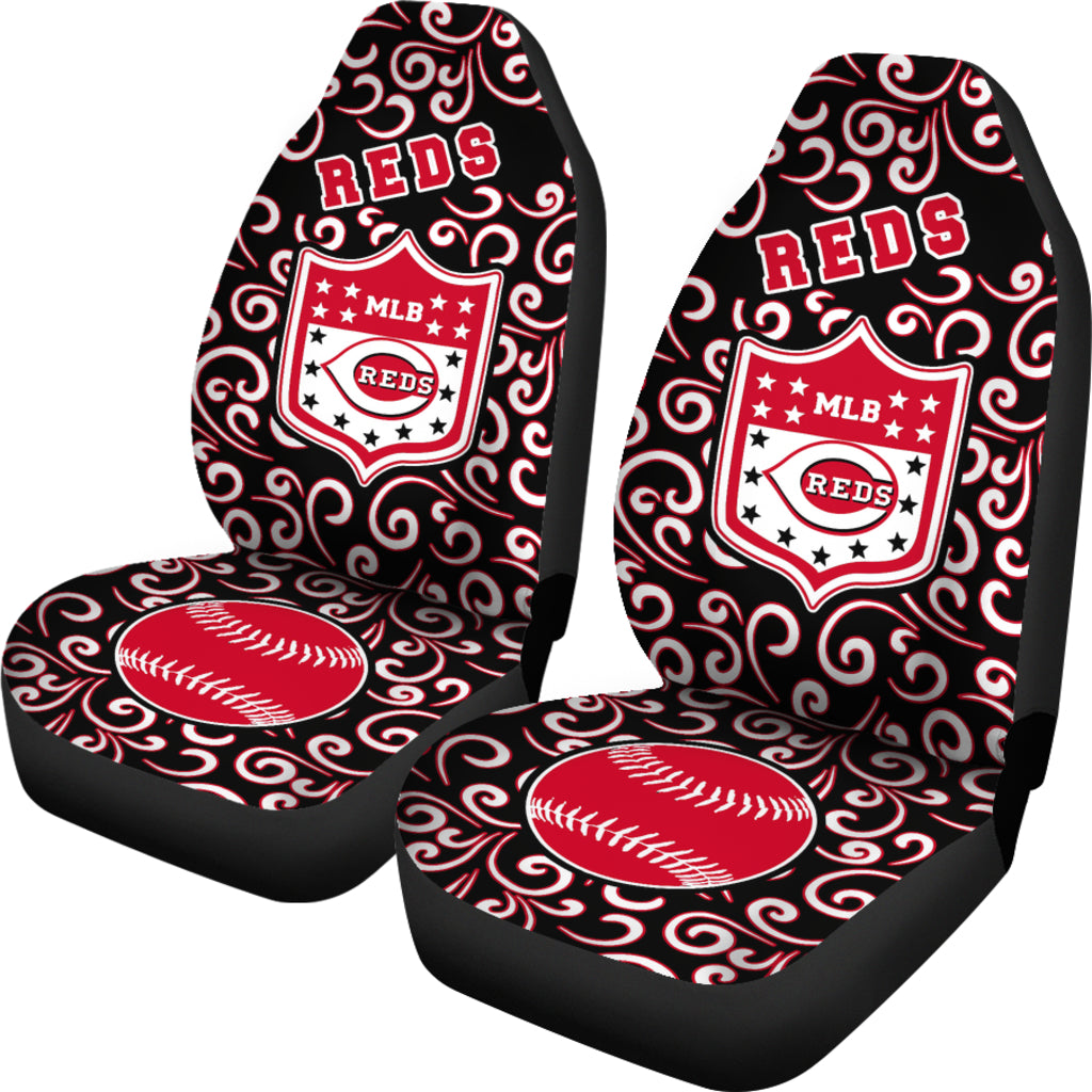 Artist SUV Cincinnati Reds Seat Covers Sets For Car