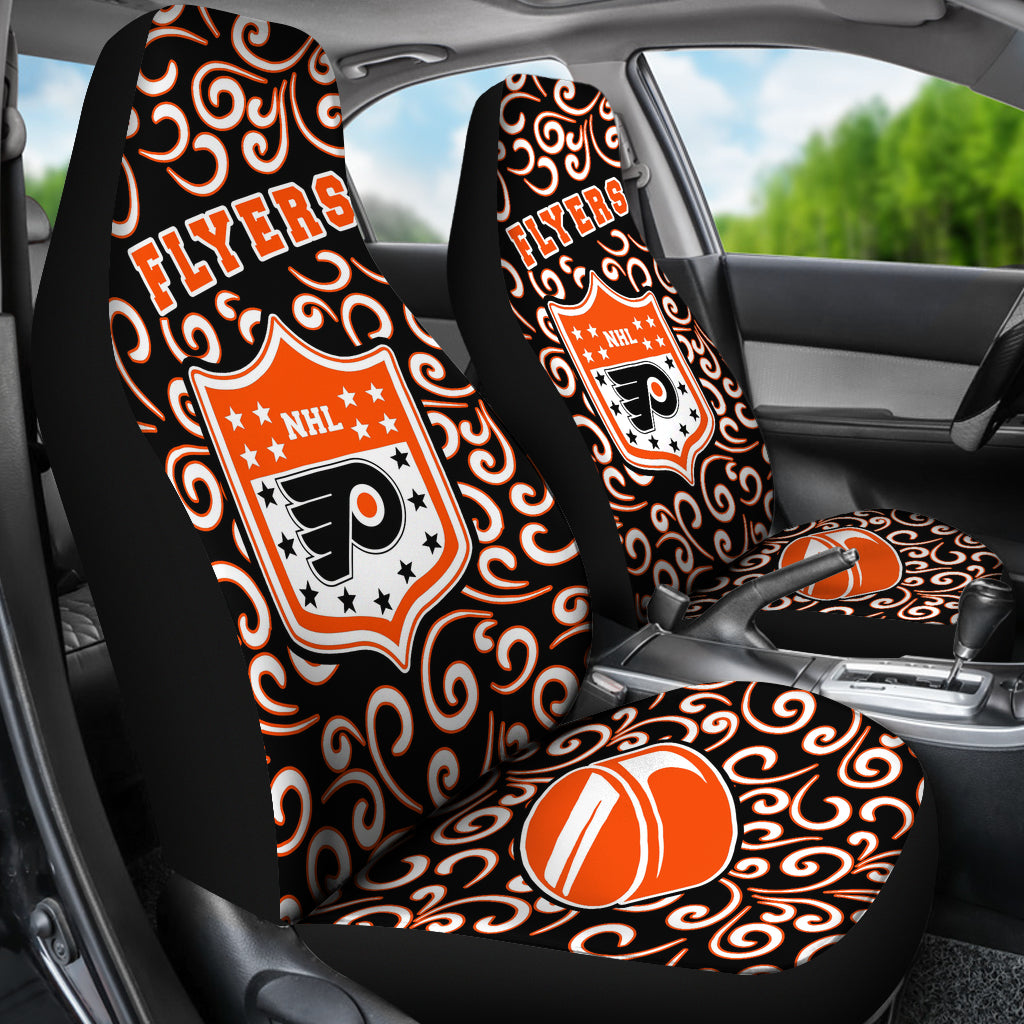 Artist SUV Philadelphia Flyers Seat Covers Sets For Car