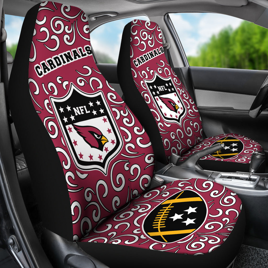 Artist SUV Arizona Cardinals Seat Covers Sets For Car