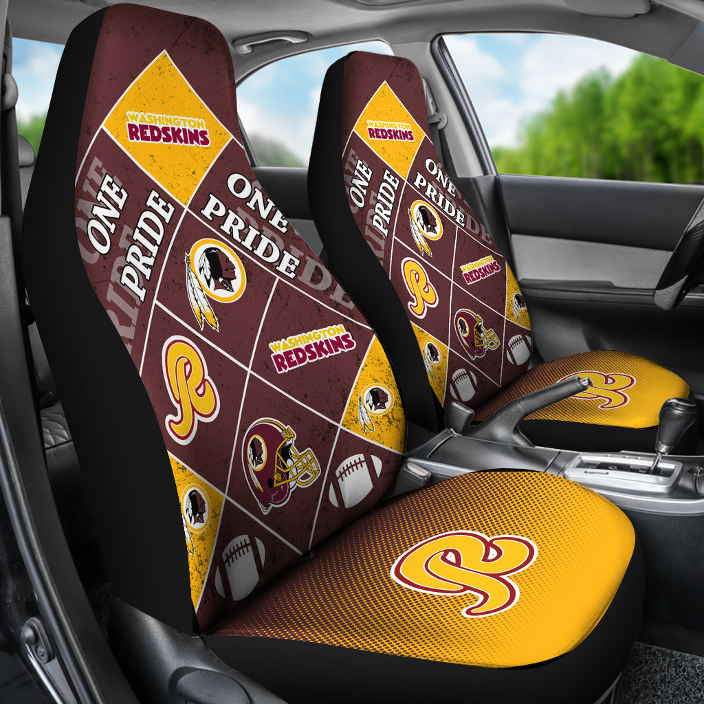 Pride Flag Washington Redskins Car Seat Covers