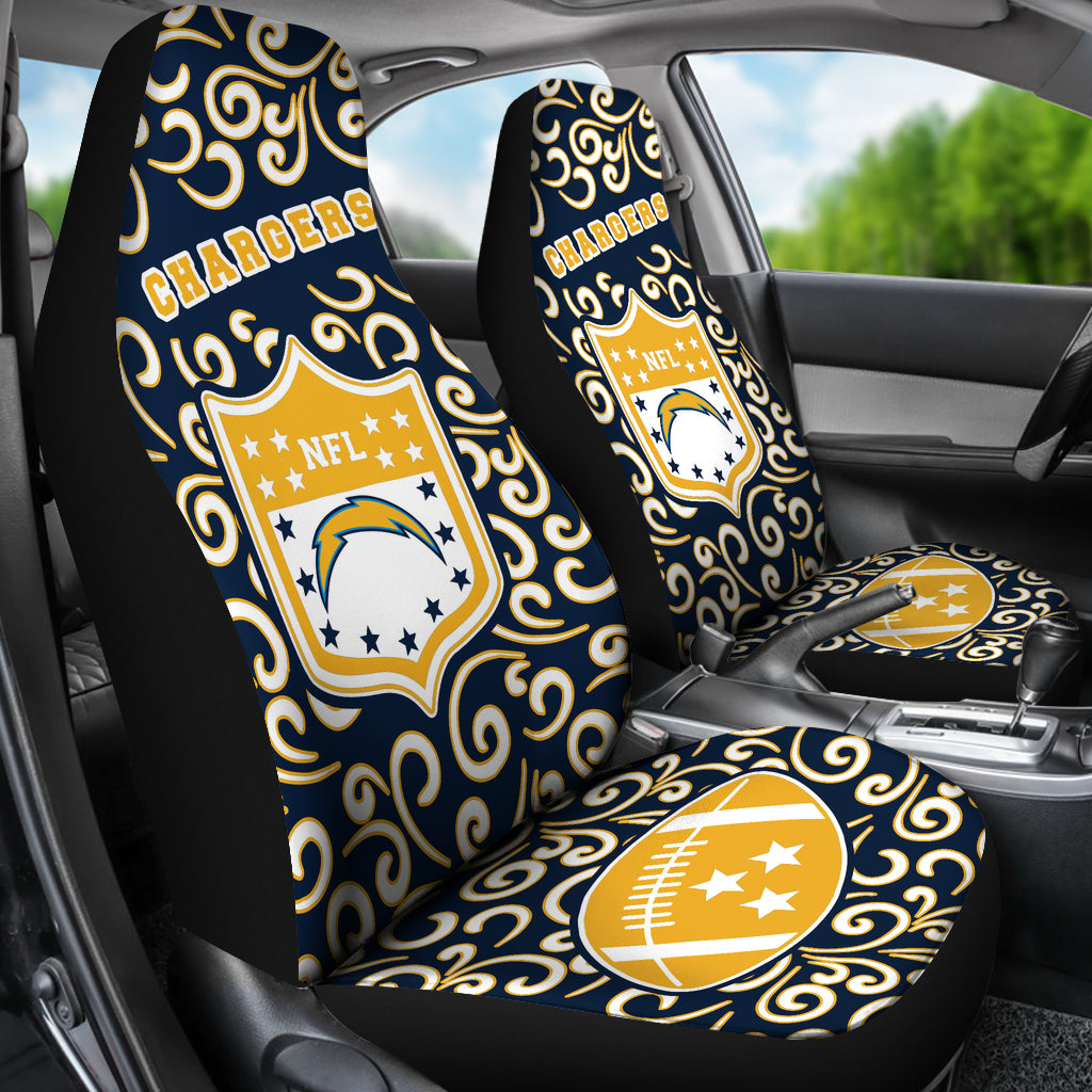 Artist SUV Los Angeles Chargers Seat Covers Sets For Car