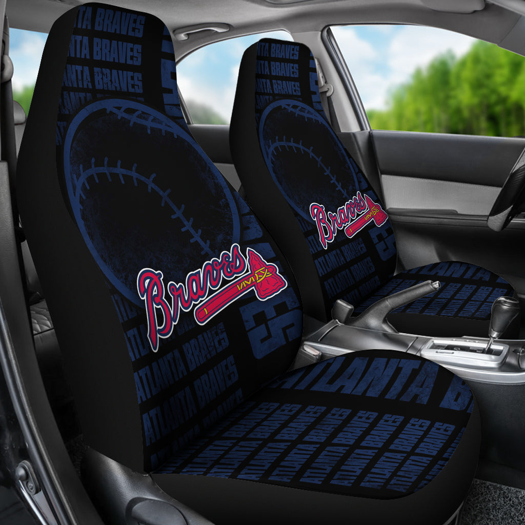 The Victory Atlanta Braves Car Seat Covers