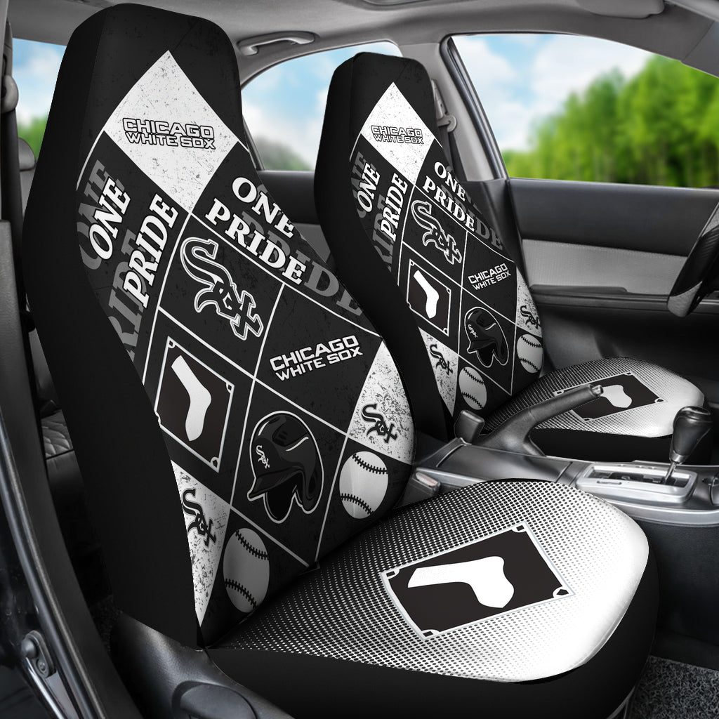 Pride Flag Chicago White Sox Car Seat Covers