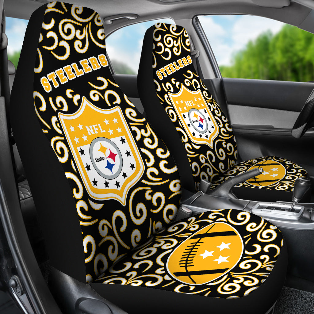 Artist SUV Pittsburgh Steelers Seat Covers Sets For Car