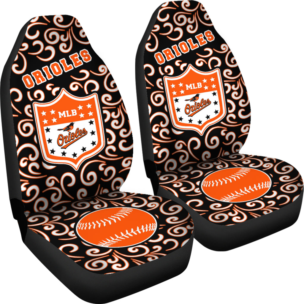 Artist SUV Baltimore Orioles Seat Covers Sets For Car