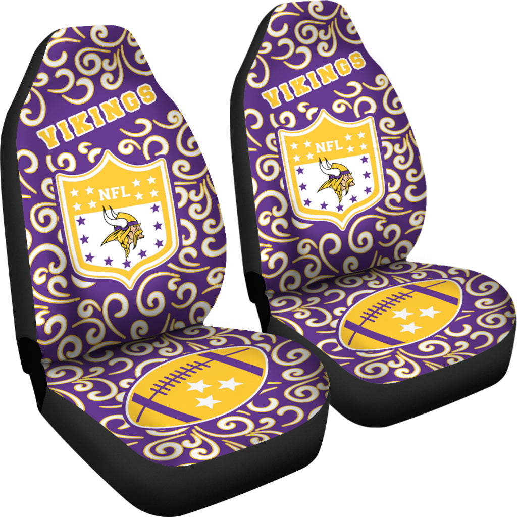 Artist SUV Minnesota Vikings Seat Covers Sets For Car