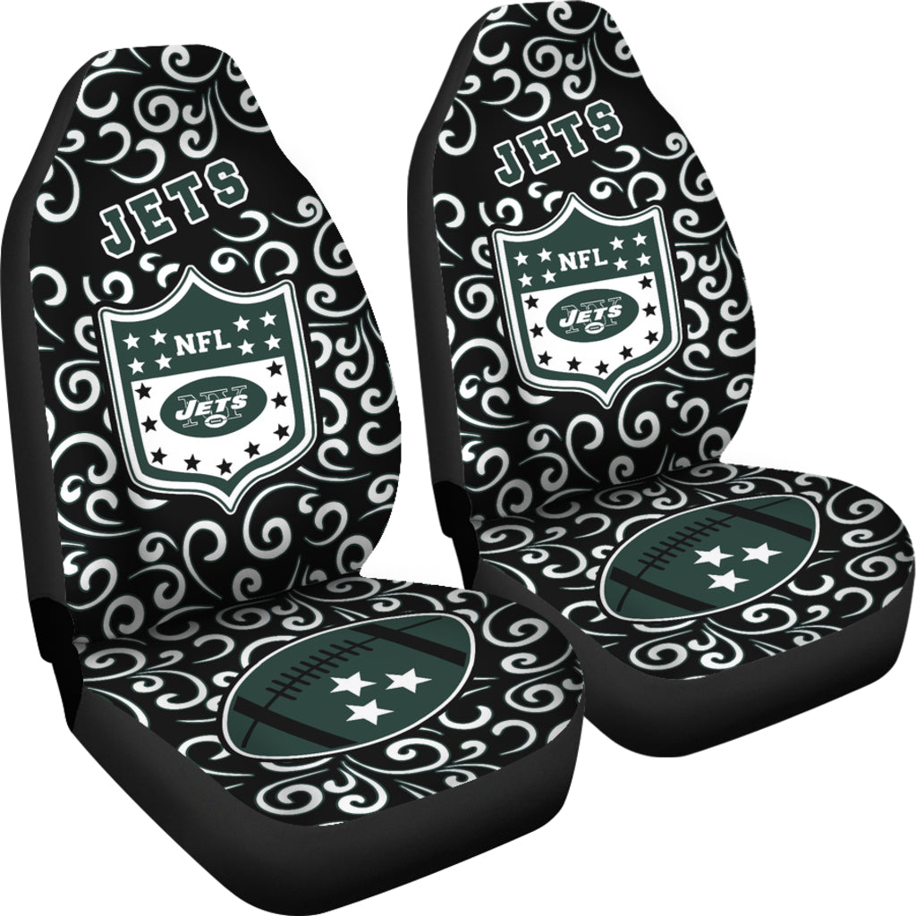 Artist SUV New York Jets Seat Covers Sets For Car