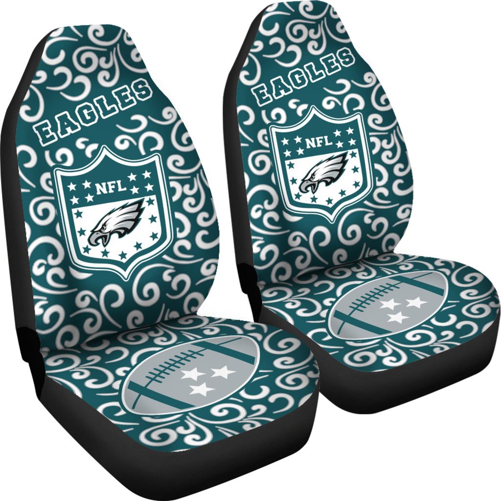 Artist SUV Philadelphia Eagles Seat Covers Sets For Car