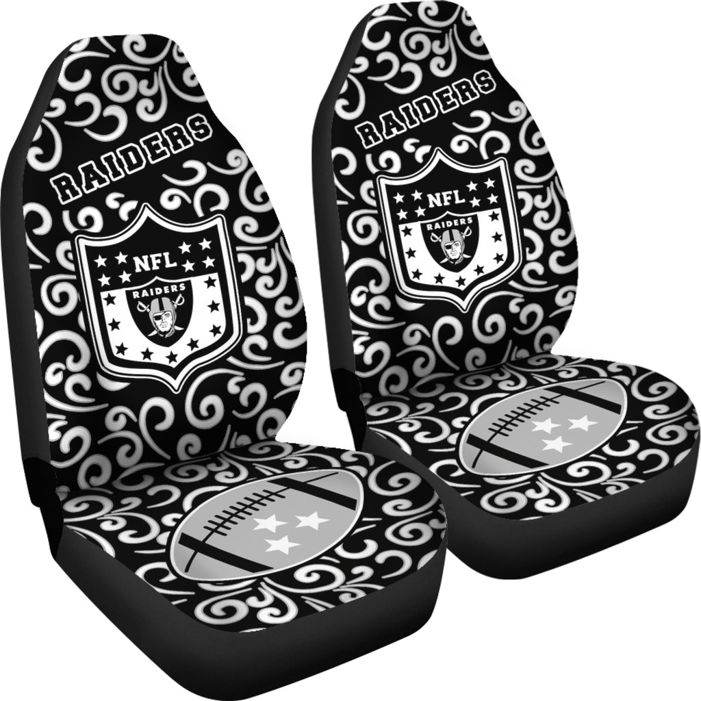 Artist SUV Oakland Raiders Seat Covers Sets For Car