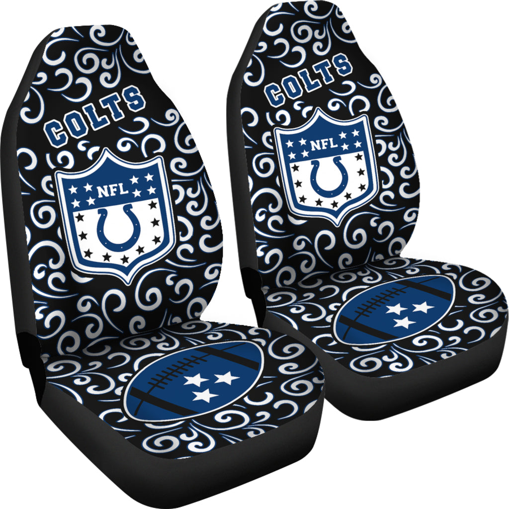 Artist SUV Indianapolis Colts Seat Covers Sets For Car