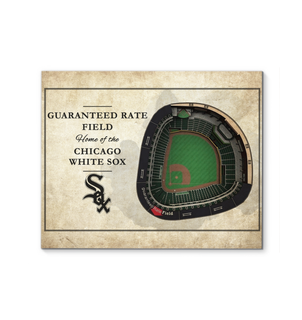 3D Graphics Chicago White Sox Stadium Canvas