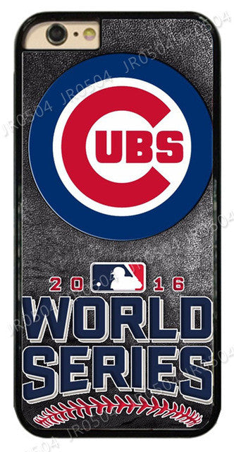 Chicago Cubs World Series Champions Plastic Hard Phone Case Cover - Best Funny Store