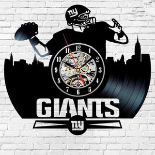 Home Decor Team New York Giants Wall Clock Art