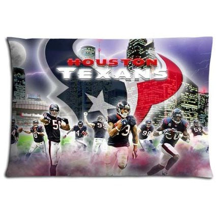 Houston Texans Pillow Cover For Sports Fan - Best Funny Store
