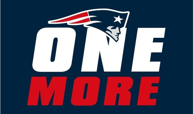 New England Patriots 5x super bowl champion Flags