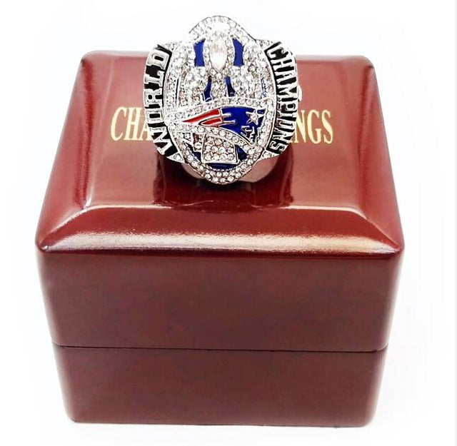 New England Patriots Super Bowl Championship Rings Handled
