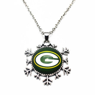 Sport Jewelry Green Bay Packers Championship Charm Necklace