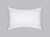 Percale 200 TC Pillowcase White - Gailarde Ltd