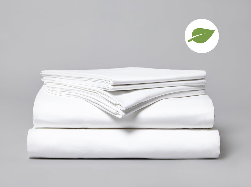 Organic 220 TC Flat Sheet White - Gailarde Ltd