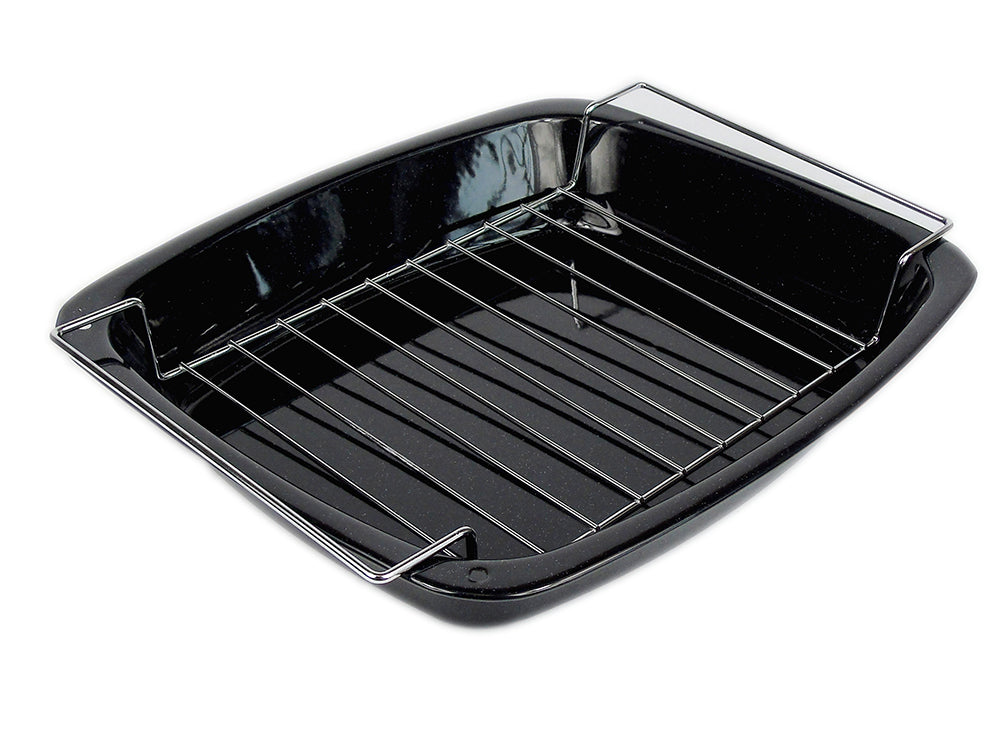 Grill Pan & Roaster Rack Enamel - Gailarde Ltd
