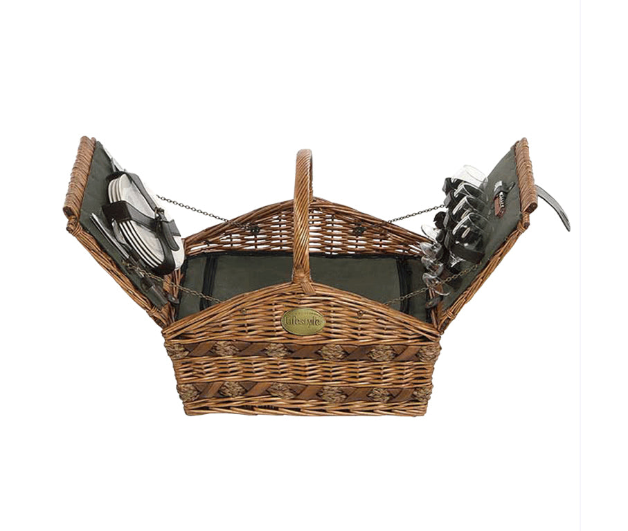 Picnic Hamper 4 Person - Gailarde Ltd