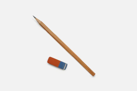 Pencil and Rubber Stationery Set